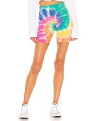 Daydreamer X Revolve Biker Short - Multicolor