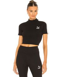 PUMA Rib Tシャツ - ブラック