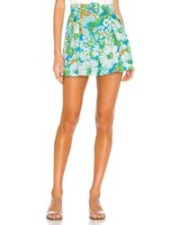 Faithfull The Brand Priscilla Short - Green