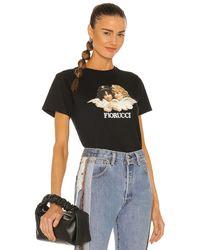 Fiorucci Vintage Angels Tシャツ - ブラック