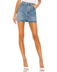 RE/DONE 60s デニムスカート. Size 31. - ブルー