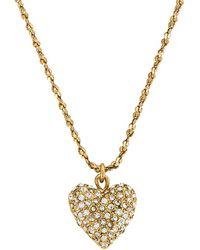 Jennifer Behr Ожерелье Kama В Цвете Crystal Antique Gold - Металлик
