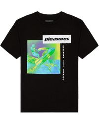Pleasures K Hole Tシャツ - ブラック