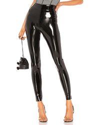 Commando Perfect control patent leather legging - Negro