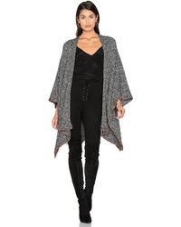 525 America Tweed Wrap - Black