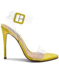 Steve Madden - Seeme Sandal In Yellow - Lyst