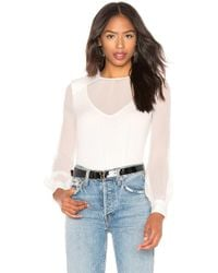 Bailey 44 - To The Bone Silk Top - Lyst