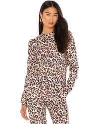 Generation Love Tabitha Leopard Sweatshirt - Brown