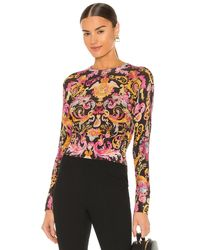 Versace Jeans Couture Versailles トップ - ブラック