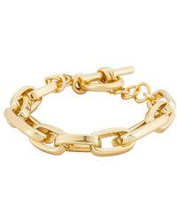 Natalie B. Jewelry Браслет Loren В Цвете Золотой - Металлик