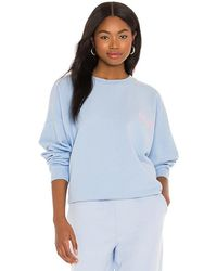 LPA Everything Is The Best Sweatshirt - Blue