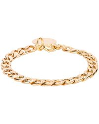 Natalie B. Jewelry D'Or Chain Bracelet - Mettallic