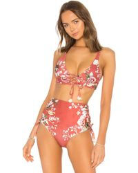 Agua Bendita - Vera Bikini Top - Lyst