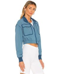 Free People X Fp Movement Forty Love Jacket - Blue