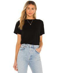 Agolde Rena Tシャツ - ブラック