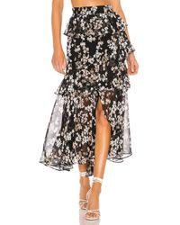MISA Los Angles X Revolve Kiana Skirt - Black