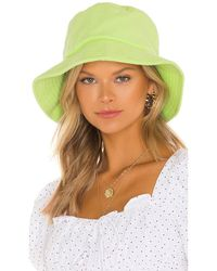 Lovers + Friends Шляпа Bridget В Цвете Зеленый