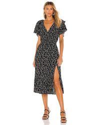 MINKPINK Marbel Midi Dress - Black