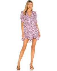 For Love & Lemons Katarina Mini Dress - Pink