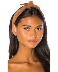DONNI. Poppy Headband - Brown