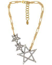 Elizabeth Cole Parker Necklace - Metallic