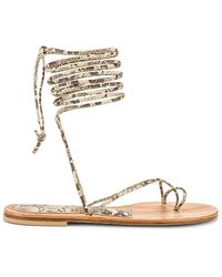 Cornetti - Arutas Lace Up Sandal - Lyst