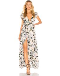 Auguste Gardenia Goldie Wrap Maxi Dress - Multicolour