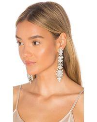 Elizabeth Cole - Phee Earrings In Metallic Silver. - Lyst