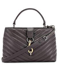Rebecca Minkoff Edie Top Handle Satchel Bag - Grey