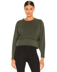 Free People Sudadera where the wind blows - Verde