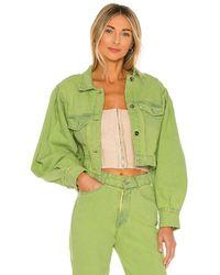 Tach Clothing Chaqueta denim caliz - Verde