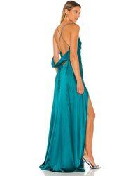 Michelle Mason ガウン In Blue. Size 6. - ブルー