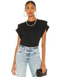 IRO Camiseta belly - Negro