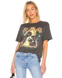 Daydreamer Def Leppard バンドtシャツ - ブラック