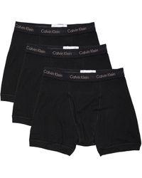 Calvin Klein - コットンクラシック3枚セットボクサーブリーフ - Lyst