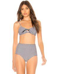 Storm - Barbados Bikini Top In Black & White - Lyst