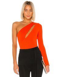 Nbd Aaliyah Bodysuit - Orange