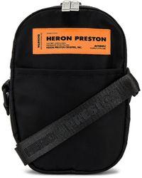 Heron Preston クロスボディ - ブラック