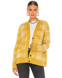 RE/DONE Кардиган 90s В Цвете Marigold Multi - Желтый
