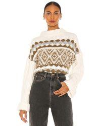 Free People Alpine Pullover - Multicolour
