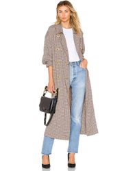 Free People - Melody Menswear Trench Coat - Lyst