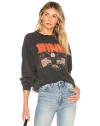 Anine Bing Vintage Bing スウェットシャツ - ブラック