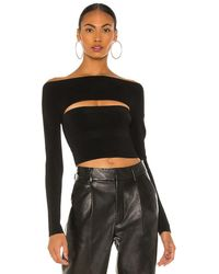 Dion Lee Two piece tube top - Negro