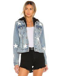 Blank NYC - Джинсовая Куртка Twofer Star В Цвете Casual Encounter Star - Lyst