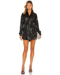 Ow Intimates Ella Shirt Dress - Black