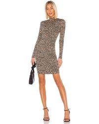 Bardot Leopard ミニドレス - ブラウン