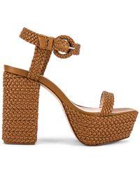 Schutz Sabella Platform Sandal - Brown