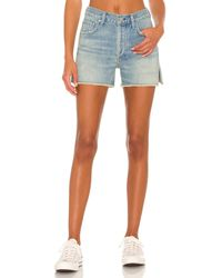 Citizens of Humanity Corey Premium Vintage Relaxed Short - Blue