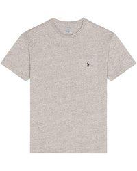 Polo Ralph Lauren Ss Cn Tシャツ - グレー