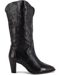 Free People Shayne Tall Western Boot - Black